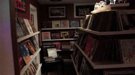 vynal room record room tour vinyl collection shelving lp room