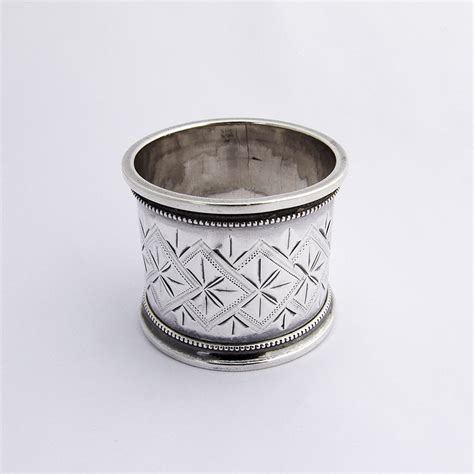 aesthetic napkin ring gorham sterling silver from berrycom