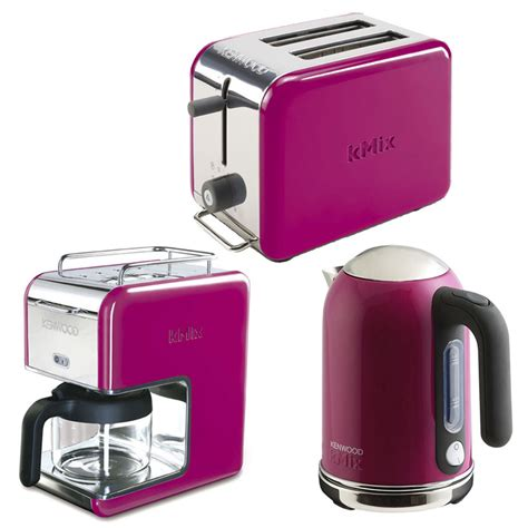kenwood kitchen appliances new magenta kenwood kmix boutique kettle stylish modern