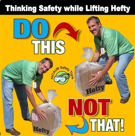 printable safe lifting poster 10 best images of free lifting safety poster safe