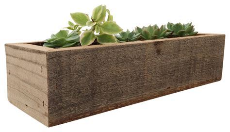 reclaimed wood herb planter rustic herb by romanreclamation mia reclaimed wood succulent box rustic indoor pots