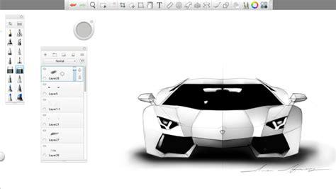 lamborghini sketch easy simple automotive sketch lamborghini aventador lp700 4
