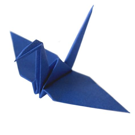 blue origami cranes graceincrease custom origami