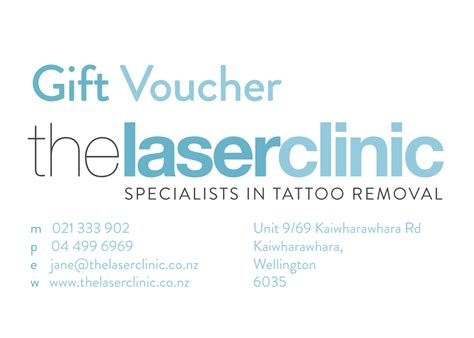 tattoo removal voucher gift vouchers removal