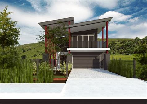 house designs sloping block bella casa constructions narrow block designs