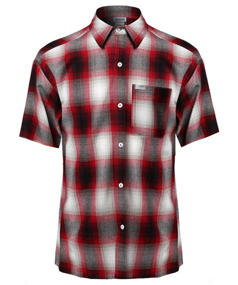 Plaid Sleeve T Shirt s sleeve casual plaid buttondown shirt