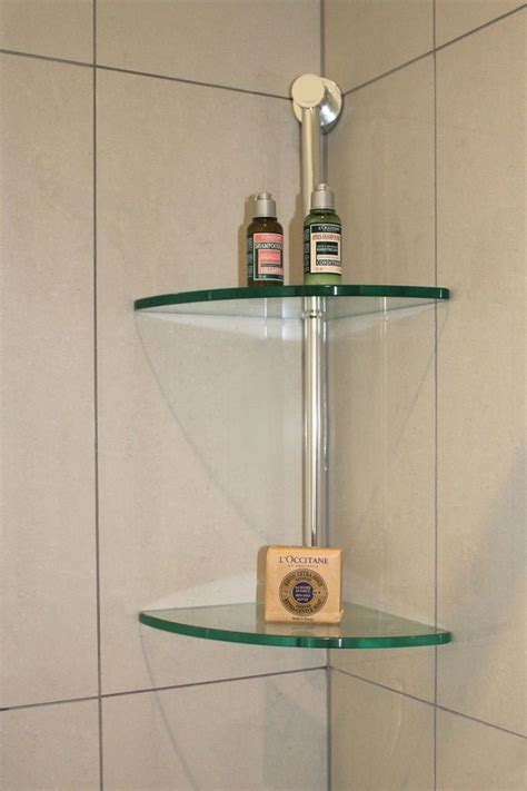 glass shelves bathroom corner wall mount and standing glass bathroom shelves