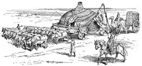 hutte mongole g 233 ographie et explorations l apport de l europe du bas