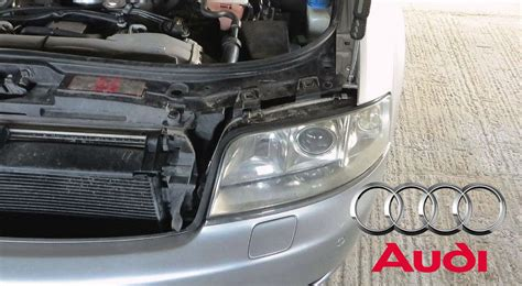 audi a6 c5 lights audi a6 c5 headlight removal diy how to remove