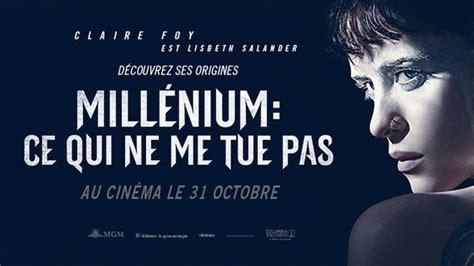 millenium ce qui ne me tue pas french webrip 2018 bande annonce du film quot mill 201 nium ce qui ne me tue pas quot vf