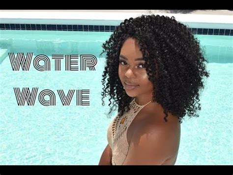 long water wave crochet long lasting crochet braids water wave review youtube