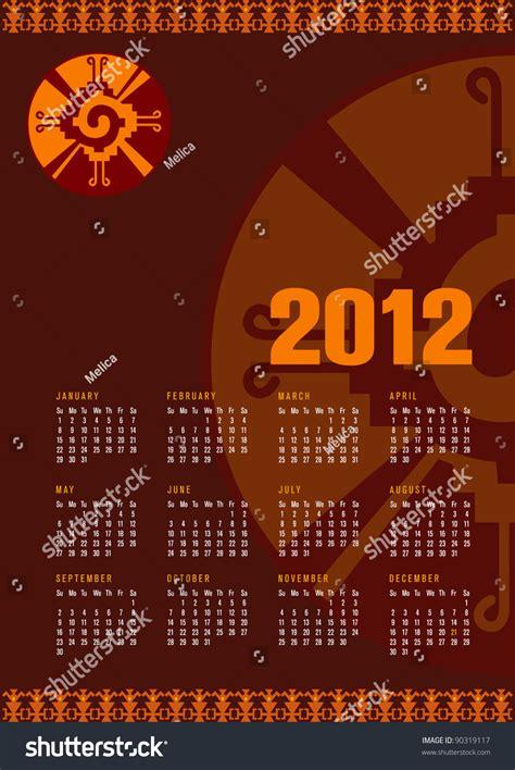 Calendar Ku Calendar 2012 With Mayan Symbol Hunab Ku As An Embodiment
