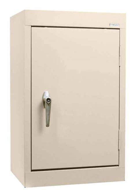 sandusky wall mount solid door storage cabinets