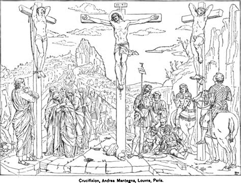coloring pages jesus crucified free coloring pages of jesus is crucified by the