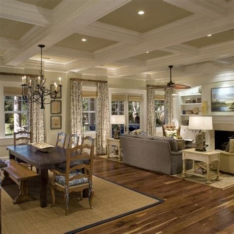 decorating open floor plan 24 best coffered ceiling images on pinterest home ideas