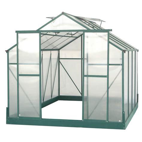 serre de jardin castorama serre de jardin 7 08m 178 polycarbonate 4mm embase