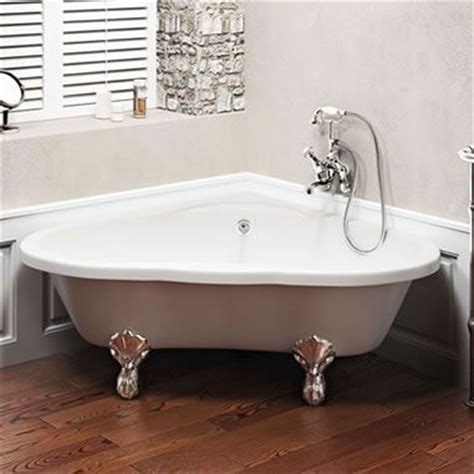 freestanding corner bathtub clearwater heart freestanding bath with black claw feet