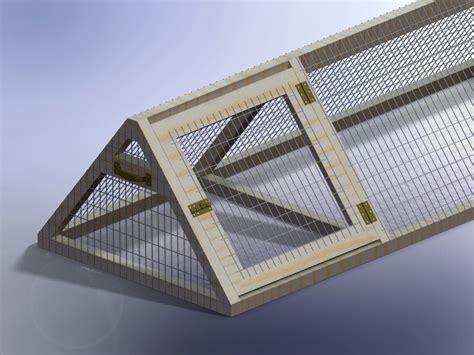 ana white triangular rabbit hutch diy projects