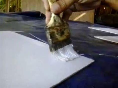 Cat Akrilik Transparan cara membuat media lukis menggunakan triplek dengan bahan