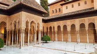 Patio Fountains Exploring The Alhambra Palace And Fortress In Granada Spain