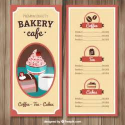 Free Cafe Menu Templates by Cafe Menu Template Vector Free