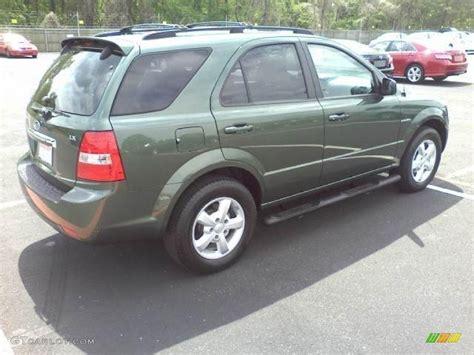 2007 Kia Sorento Lx Green 2007 Kia Sorento Lx Exterior Photo 48181985