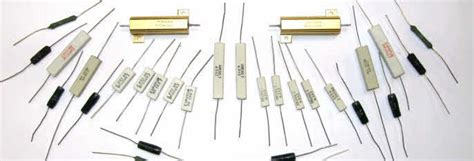 ceramic resistor network ceramic wire wound and metal oxide resistors for use in loudspeaker crossovers and networks