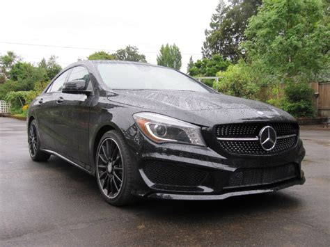 Image: 2014 Mercedes Benz CLA 250, test drive in Oregon