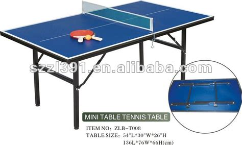 small ping pong table folding and portable of mini ping pong table buy ping