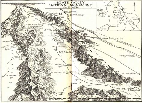 map of valley valley national park california travel to eat