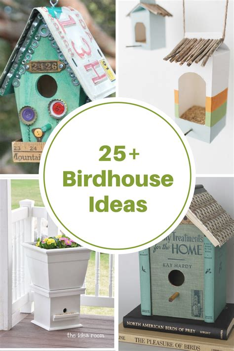 Diy Birdhouse Ideas The Idea Room