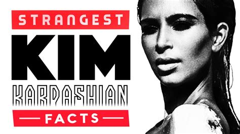 kim kardashian facts video 10 weird facts about kim kardashian youtube