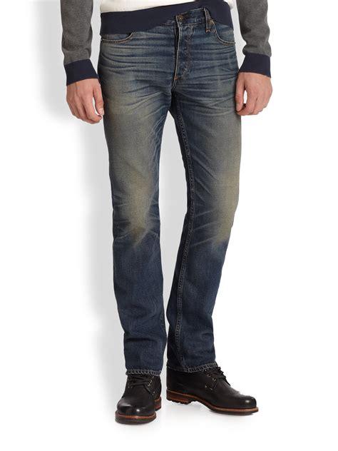 rag bone rbx slim jeans  blue  men lyst