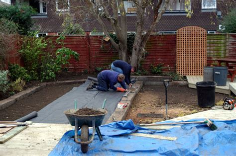 Laying Garden Sleepers by Back Garden Update