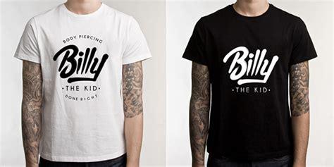 Kaos Kerah Polo Shirt Shining Bring billy the kid on behance