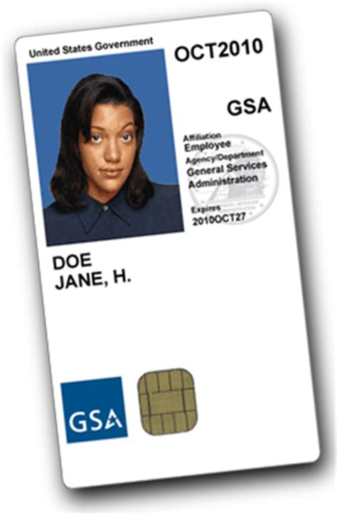 govt id card design how gsa employees obtain a gsa access card
