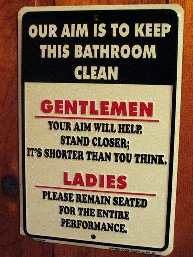 bathroom sayings funny 9 best signs images on pinterest bathroom signs funny