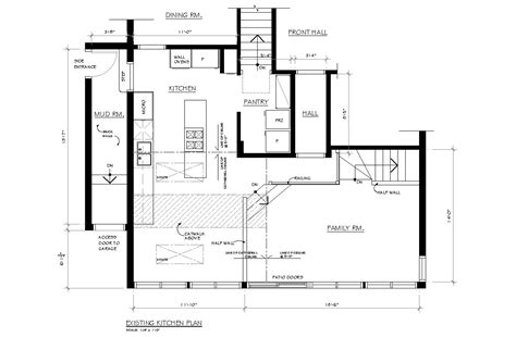 Kitchen Floor Plans Creed New Project Gail S Kitchen Reno