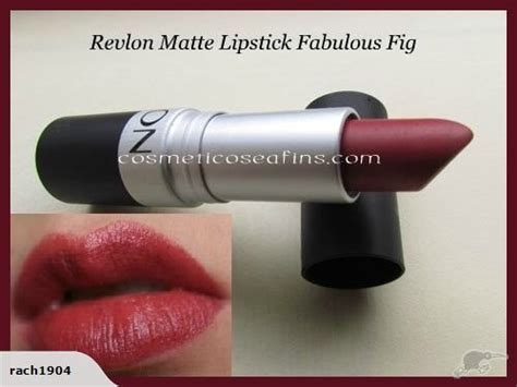 Revlon Fabulous Fig revlon matte lipstick fabulous fig trade me my all