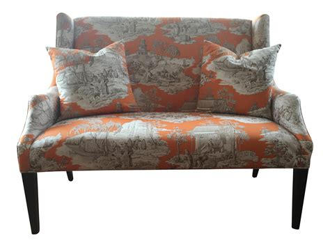 toile sofa toile sofa french provincial style tufted sofa newly