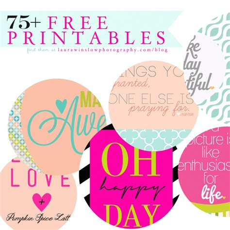 free printable quote tags 75 free printables memorable words monday quotes