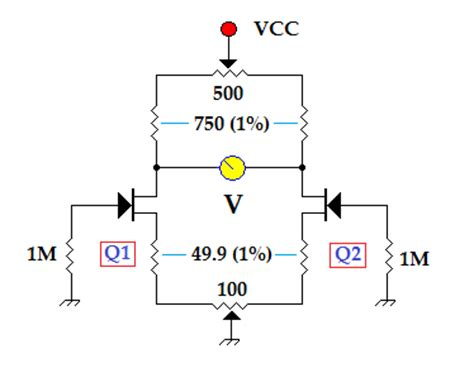 resistor matching bridge fet matching 3 electrical equipment circuit circuit diagram seekic