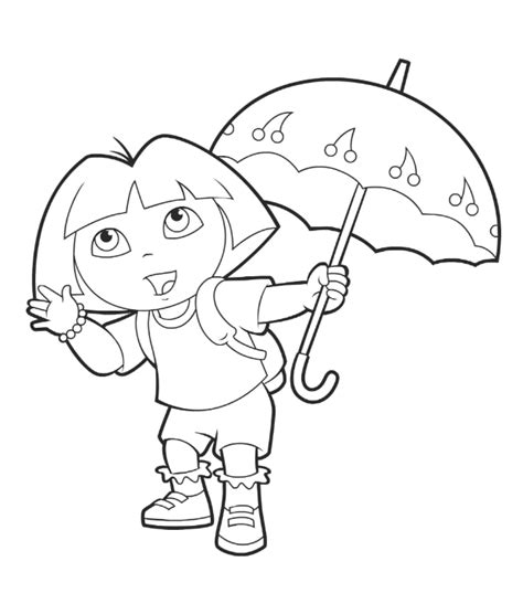 dora mermaid coloring pages coloring pages