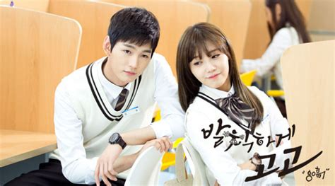 film romantic seru pemeran drama cheer up reuni seru ada eun ji dan lee