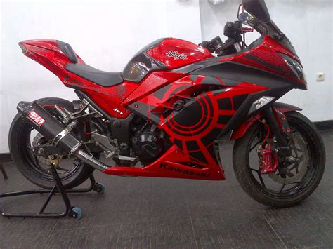 kawasaki ninja 250 motor modifikasi kawasaki ninja 250 terbaru modifikasi motor