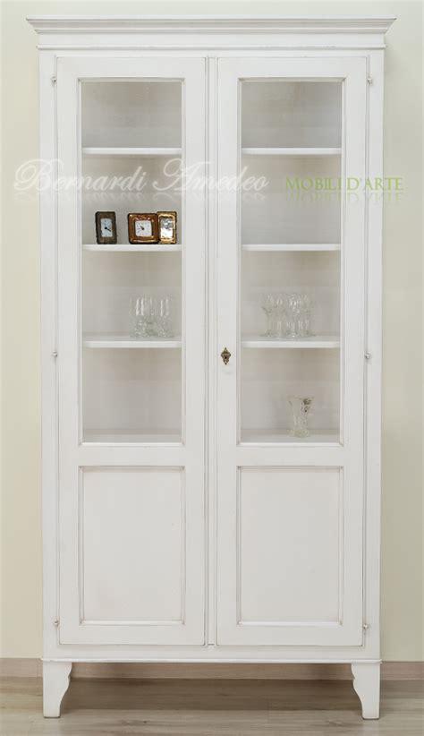 credenze bianche anticate vetrina country in legno laccato bianco anticato ultimi