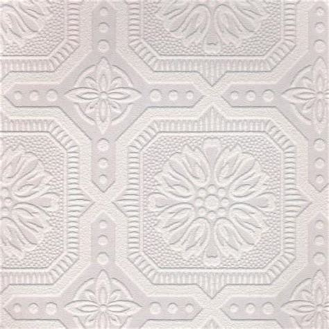 tile pattern paintable wallpaper graham brown 56 sq ft 1 double roll small ceiling tile