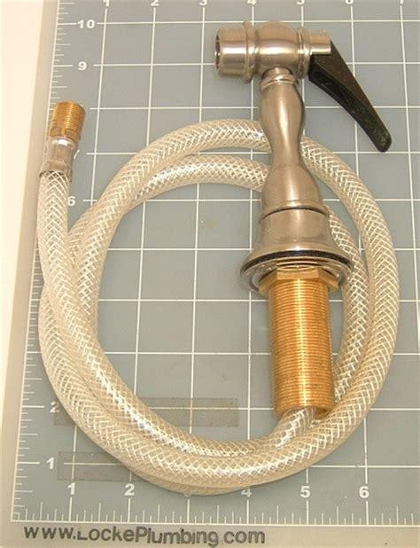hamat 1 3170st stainless steel side sprayer locke plumbing