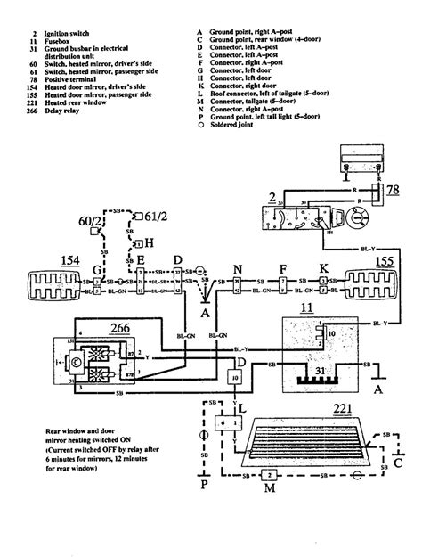 volvo power window wiring diagram honda gx160 engine diagram