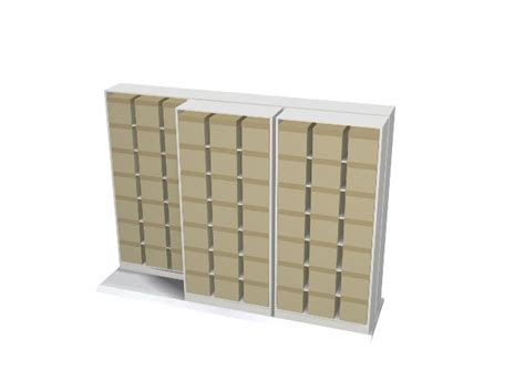 Sliding Shelf System by Bi File Sliding Shelving Easystor Lateral Storage System